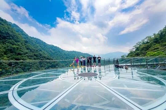 Private Tour To Gulong Canyon With Glass Bridge And Water Falls From Guangzhou