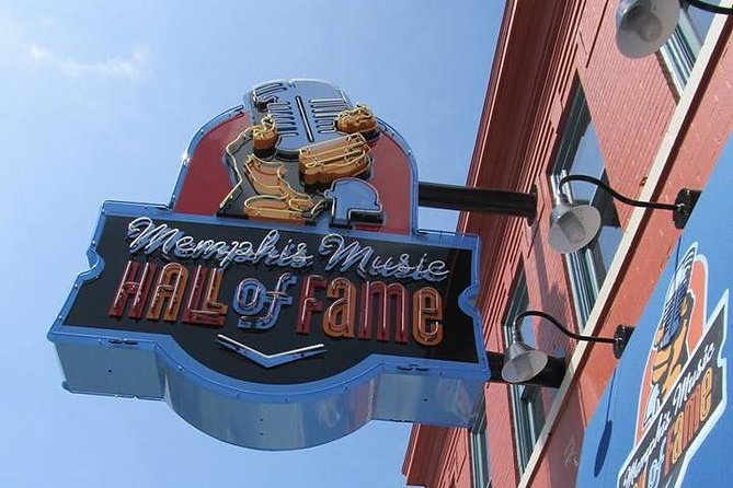 Memphis Music Hall of Fame Admission Ticket