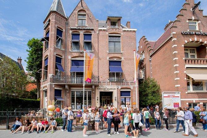Diamond Museum Amsterdam – Experience our diamond heist! Admission Ticket