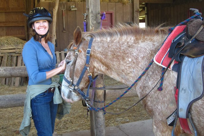 Guided Horseback Riding on the Fern Forest Trail