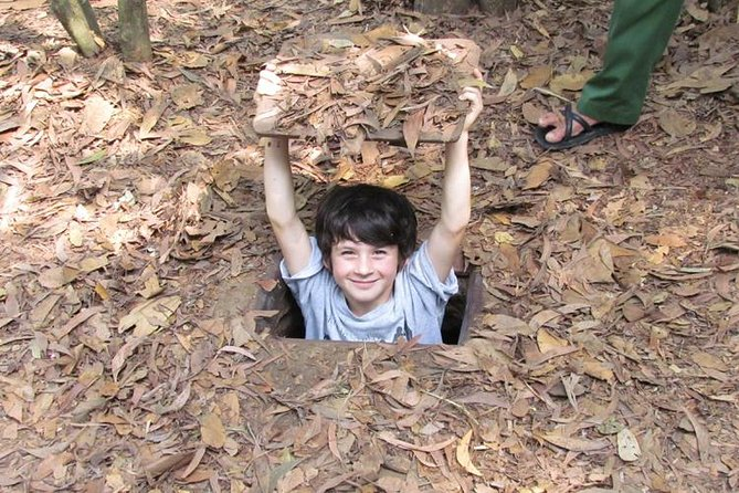 5 to 6 Hour Cu Chi Ben Dinh Tunnels Small Group Tour