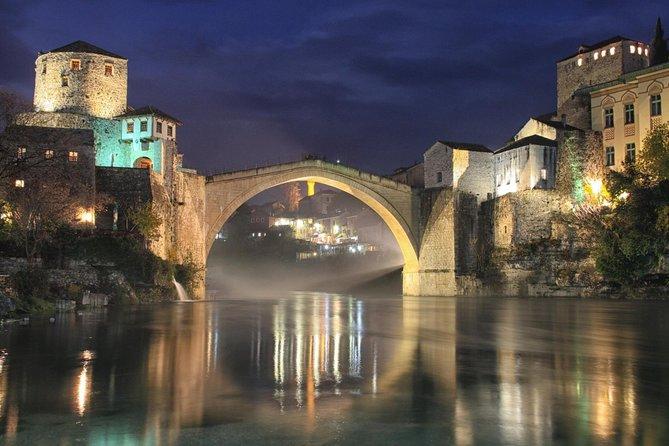 Sarajevo to Dubrovnik One-Way Day Trip via Mostar - Kravice Waterfalls - Blagaj - Pocitelj and Konjic