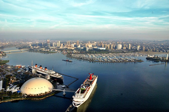 Private Helicopter Tour over Long Beach and Los Angeles