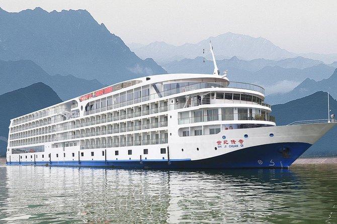 3-Night 5-Star Century Legend Three Gorges Cruise: Chongqing to Yichang