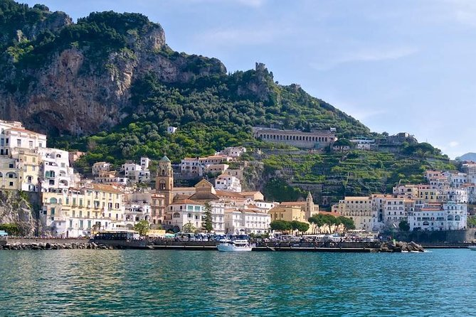 Amalfi Coast day trip by Exclusive boat from Positano or Praiano