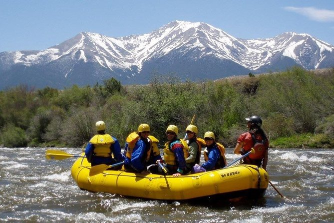 Browns Canyon Sizzler 6-Hour Whitewater Rafting Experience from Buena Vista