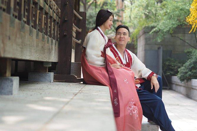 Hanbok Photoshoot in Seoul