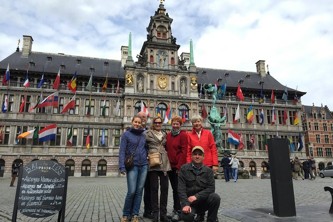 3-Hour Private Tour in Antwerp