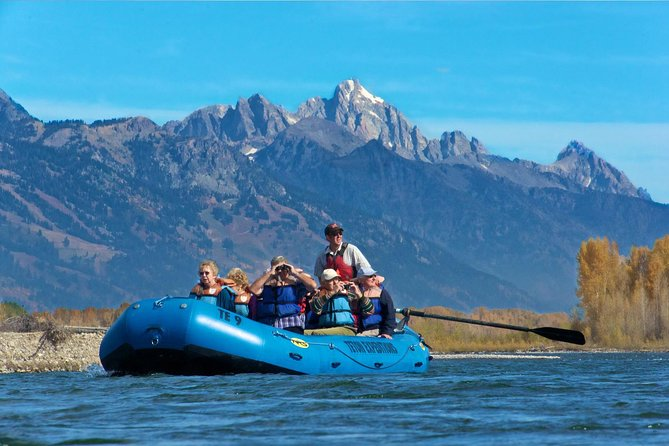 14-Mile Scenic Float Trip: Snake River with Grand Teton Views