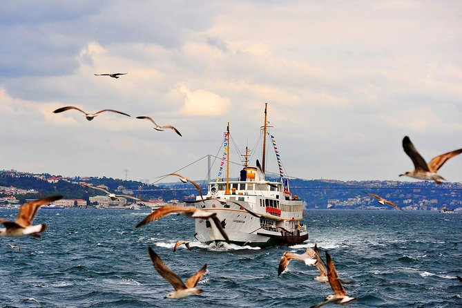 Afternoon Bosphorus Cruise Tour, Golden Horn Coach Tour and Cable Car Ride