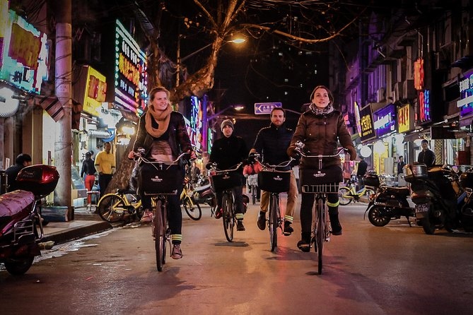 Shanghai Small-Group Night Tour by Bike