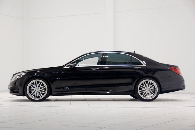Stockholm City Departure Private Transfer to Stockholm Port by Luxury Car