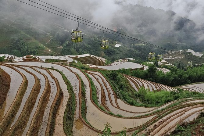 Longji Rice Terraces with the Dazhai Cable Car Private Day Tour