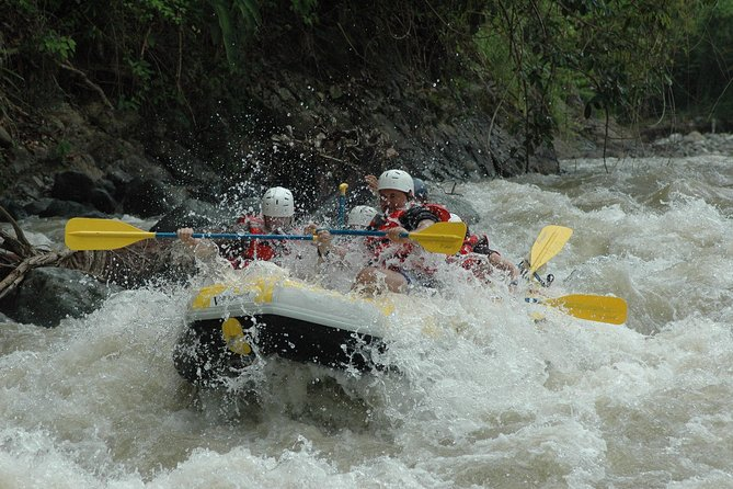 Phuket Adventure with White Water Raftnig Monkey cave Zip Line and Waterfall