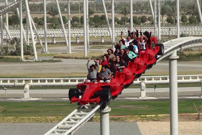 Full-Day Abu Dhabi Tour & Ferrari World Tickets with transfers