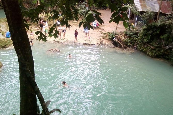 Blue Hole, Dunn's River, Lunch And Shopping from Negril