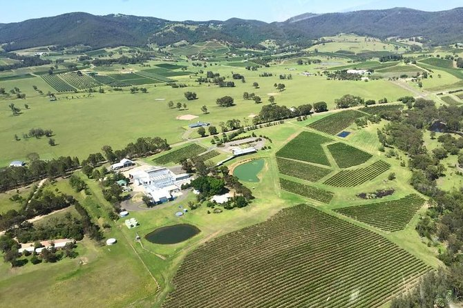 Helicopter Tour of Hunter Valley in New South Wales with Lunch