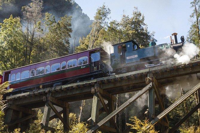 West Coast Wilderness Railway: Queenstown Explorer from Strahan