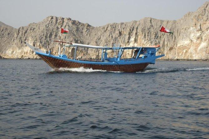 Full-Day Dhow Cruise in Khasab Musandam