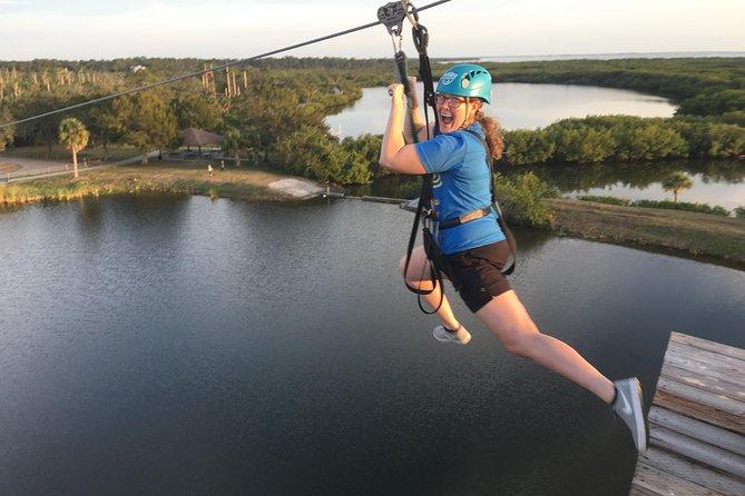 Zip Line Adventure over Tampa Bay