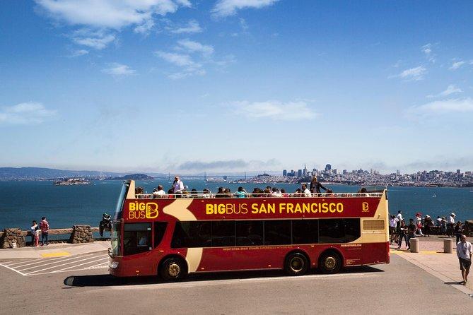Big Bus San Francisco Hop-On-Hop-Off Open Top Tour and Alcatraz Combo