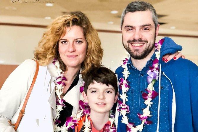 Traditional Airport Lei Greeting on Kahului Maui