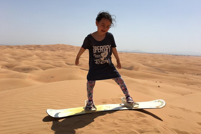 Afternoon Dune Bashing & Sand boarding,Sunset Red Sand Dunes,Camel Ride Experia
