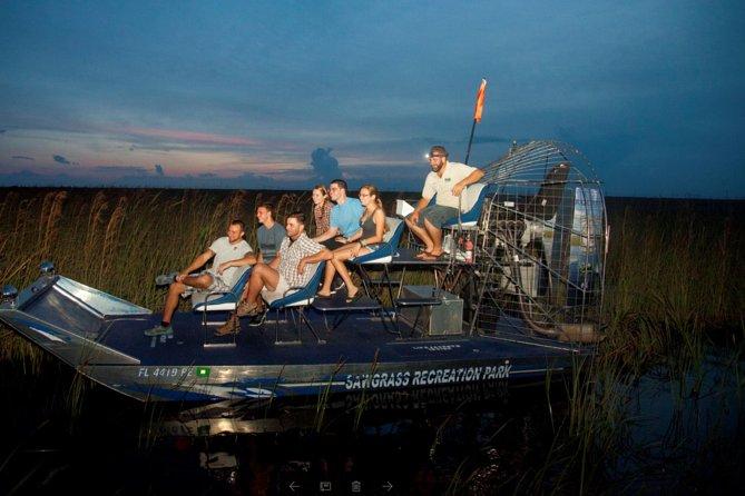 Florida Everglades Private Night Airboat Ride Tour