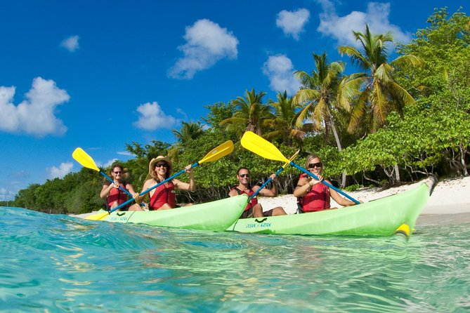 Caneel Bay Kayak, Hike, and Snorkel with Sea Turtles