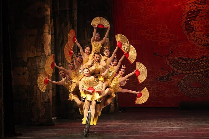 Beijing Acrobat Show with Transfer