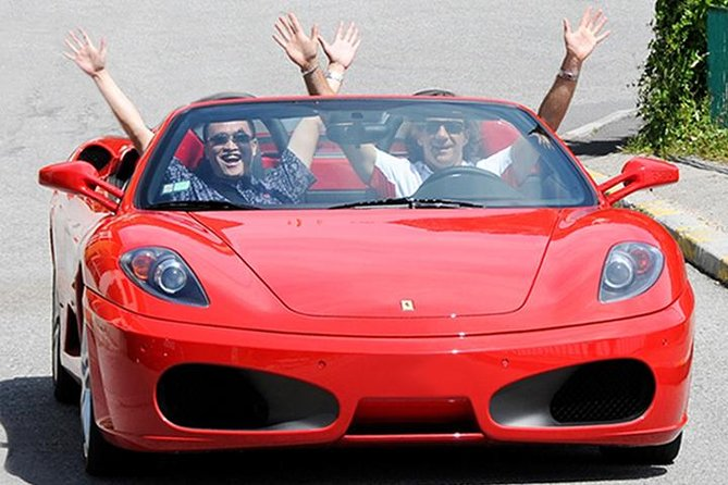 French Riviera Ferrari Sports Car Pilot or Co-Pilot Driving Experience from Nice