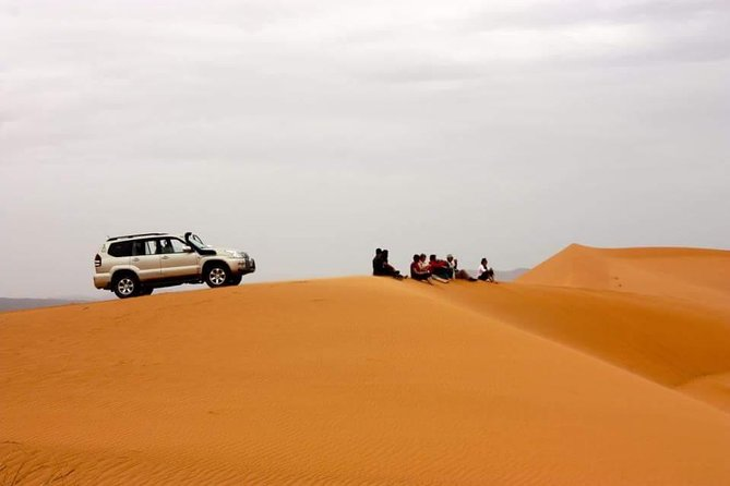 Overnight desert trip to Erg Chigaga Dunes from Zagora with camel and 4x4