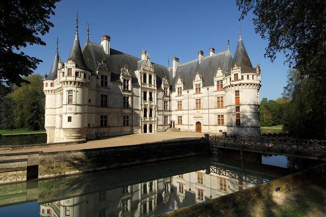 Day tour of Chateaux of Azay le Rideau Langeais Villandry, organic wine tasting