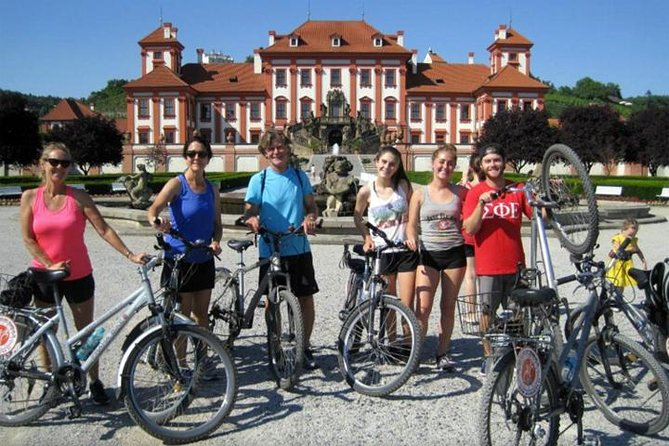 Half-Day Bike Tour from Prague to Troja Chateau