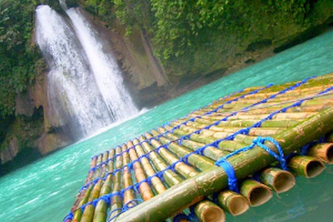 Kawasan Falls and Mantayupan Falls in One Day from Cebu