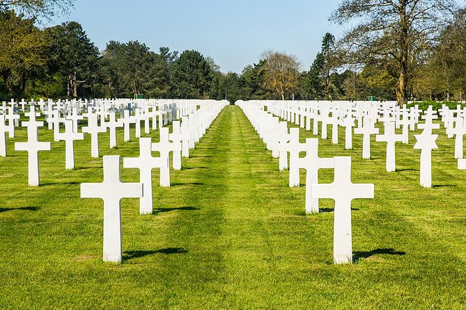 Normandy D-Day Beaches & American Cemetery Trip from Paris