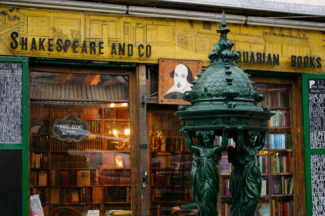 Paris 3-Hour Literary Greats Walking Tour from 18th Century on