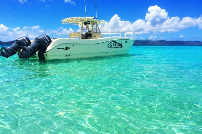 Private Boat Charter to British Virgin Islands from St John