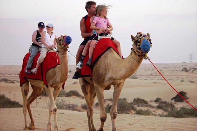 Morning Dubai Desert Safari with Camel Ride, Sand boarding & Breakfast