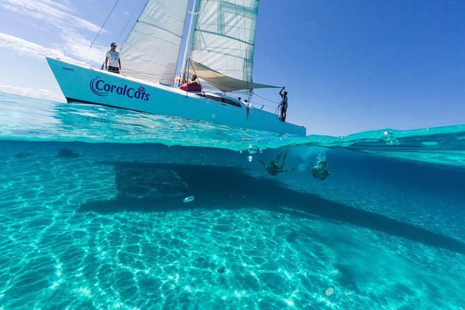 Coral Cats Day Sail with Magnificent Snorkeling and Fijian BBQ Lunch