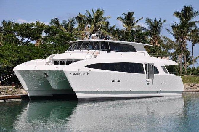 Port Denarau to Plantation Island Resort-Scheduled Launch Transfer