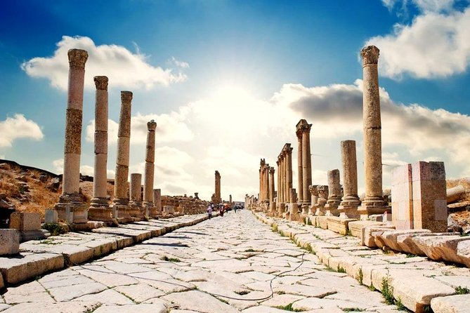 One Day Tour to Jerash and Ajloun and Dead Sea