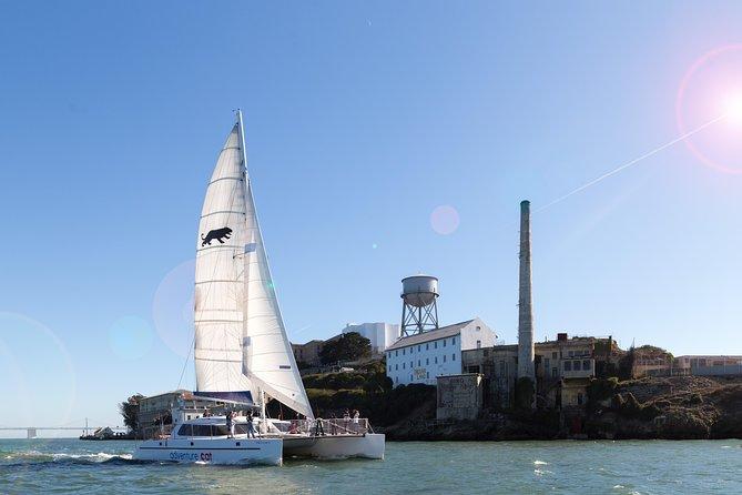 Alcatraz Tour and San Francisco Bay Sailing Cruise Combo