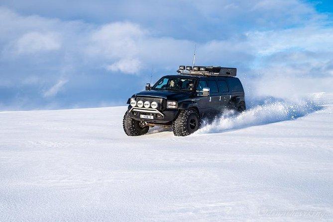 Golden Circle and Glacier Super Jeep adventure