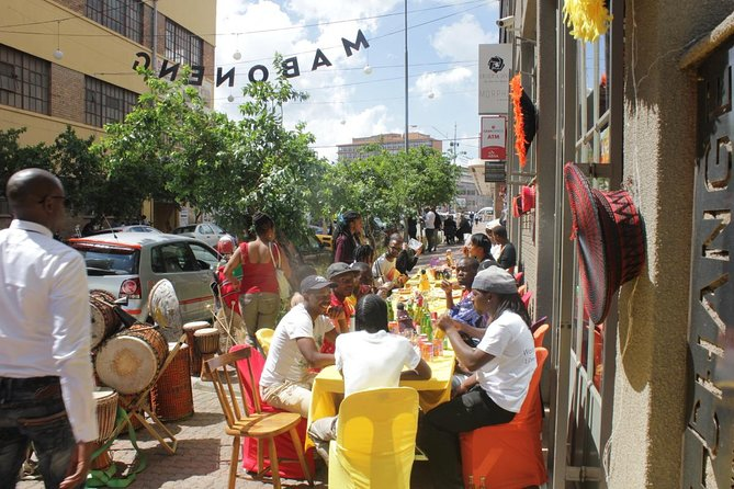 Walking Tour of Maboneng Arts and Crafts Markets from Sandton
