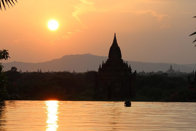 Bagan Mt-Popa sightseeing and sunset boat ride in Ayeyarwaddy River