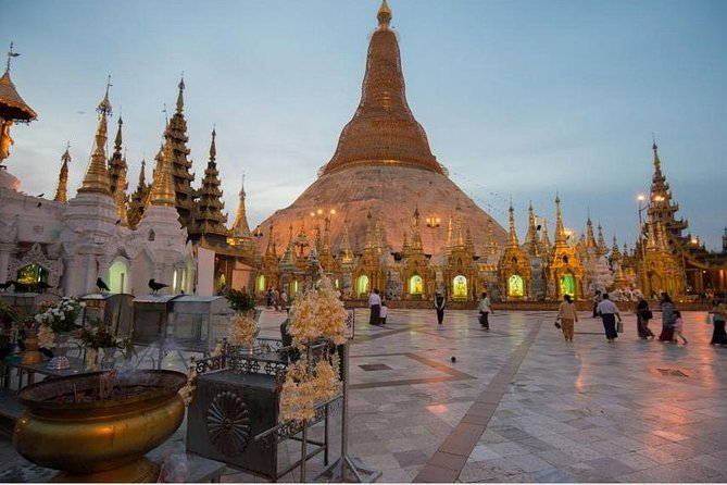 Private Full-Day Yangon Culture and Temples Tour With Shwedagon Pagoda
