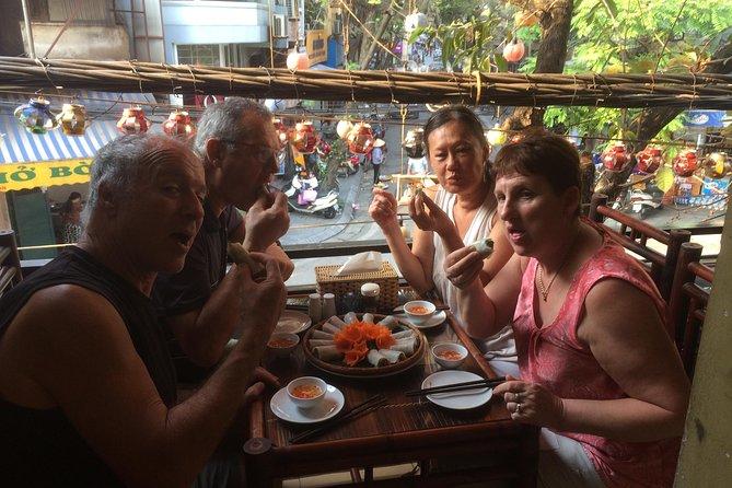Hanoi street food tour small group tour