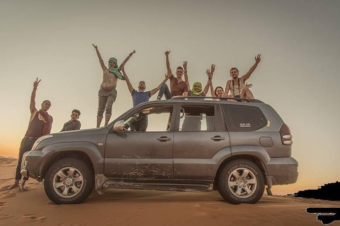 Merzouga Desert Day-Trip by 4x4 with Nomads Visit