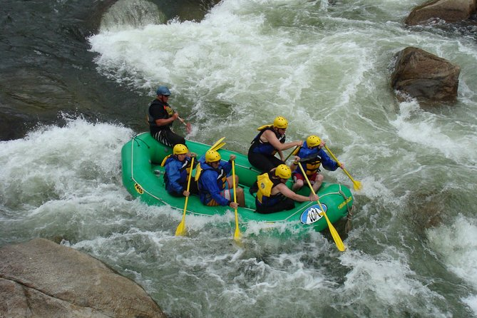 Numbers Extreme Whitewater Rafting